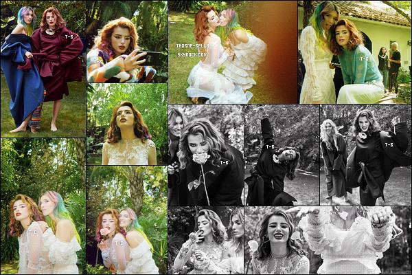✿ Bella a réalisé un photoshoot en compagnie de sa soeur pour Paper Magazine.