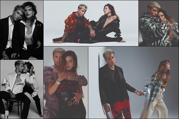 Bella et Benjamin Mascolo ont réalisé un photoshoot pour le magazine Vanity Fair.