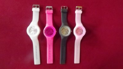 montre en silicone Hello Kitty