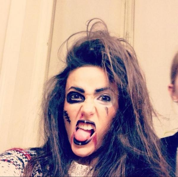 Article 18. Capucine a fêté Halloween avec ses amis