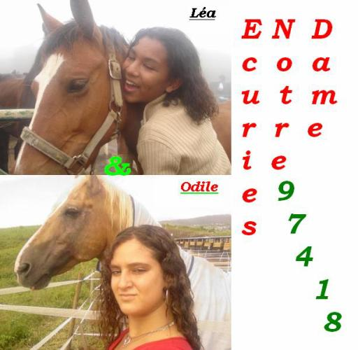 end friends for ever Odile et Léa