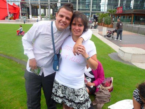 voila ma femme avec qui je suis fiancer le 18 septembre 2010 a la def