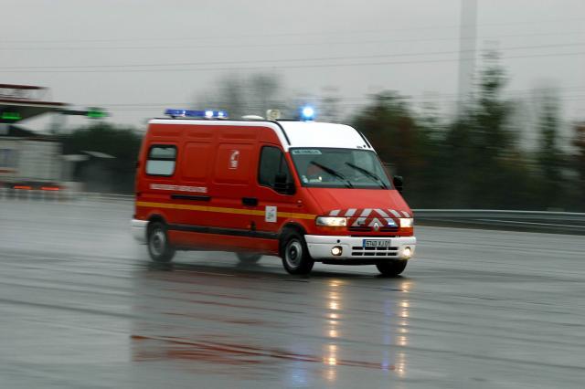Vehicules des Pompiers des SDIS de l'Ain, de l'Isere et du Rhône