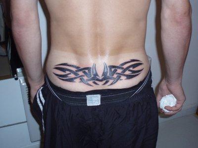 Tribal Bas Du Dos Art Is Tic Tattoo