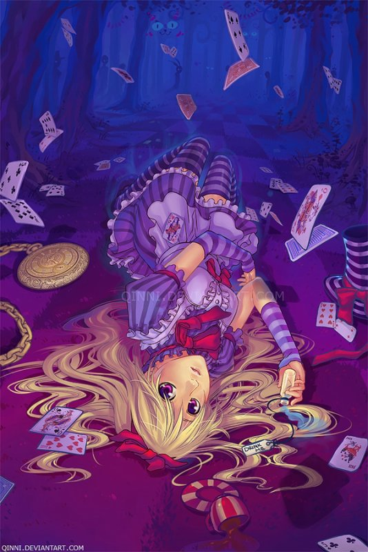 Welcome to the land of nightmares alice