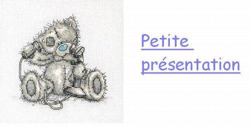 ♥ Petite présentation.♥