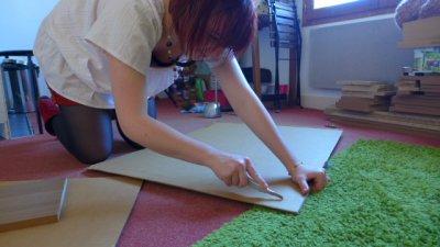 DIY Façade de meuble