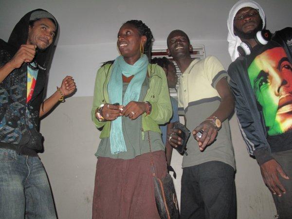 Soirée Reggae Party aprés concert au ccf avec les potes