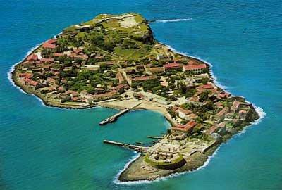 L'Ile de Gorée au sénégal