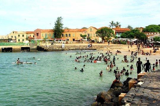 L'été à l'ile de Gorée