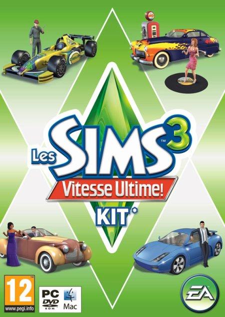 Les Sims 3™ - Vitesse Ultime ! Nouveau disque additionnel