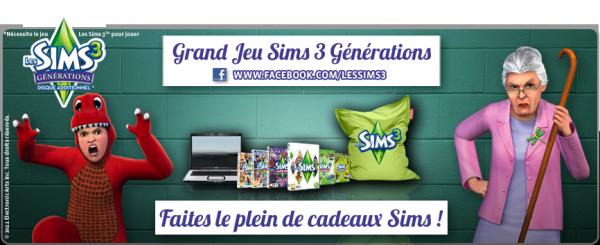 Fais le plein de cadeaux Sims !