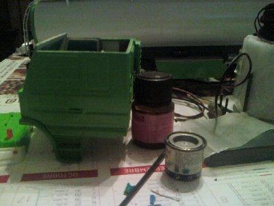 sayer la mise en peinture et entre de la mise en apres bien sur