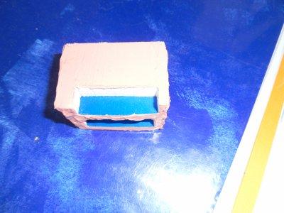 pendant le sechage preparation du coffre a batteries !!!
