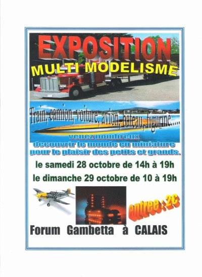 expo multimodelisme a calais