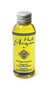 L'huile d'argan/ de coco.