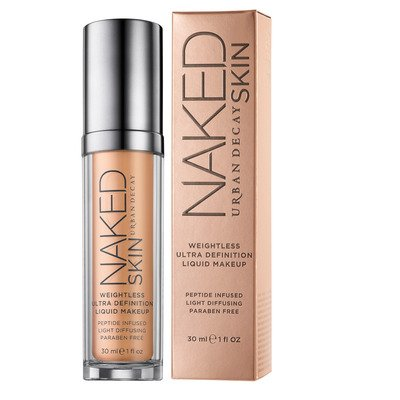 Naked skin.