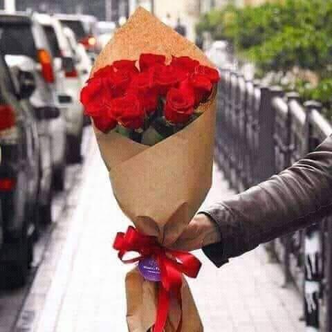 Un bouquet de fleurs..........