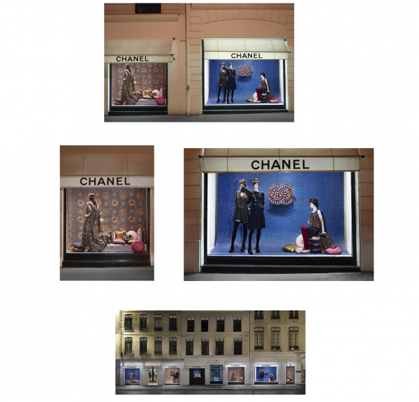 nouvelle vitrine CHANEL PARIS