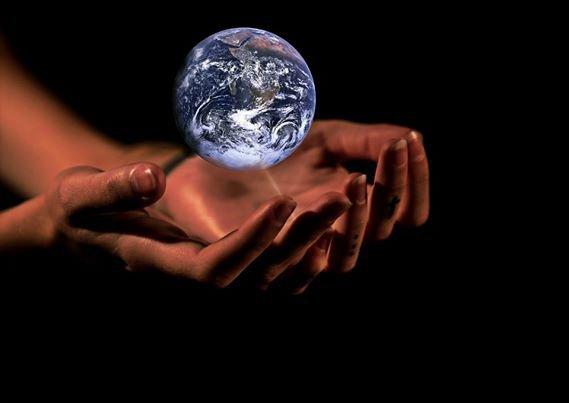 La terre ...