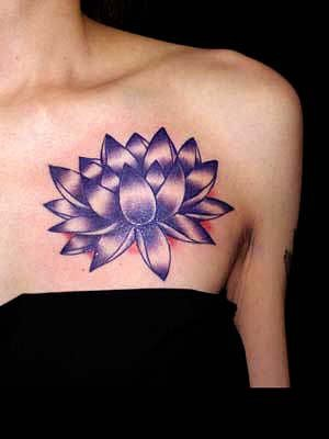 tatouage fleur de lotus tattoos piercings. Black Bedroom Furniture Sets. Home Design Ideas