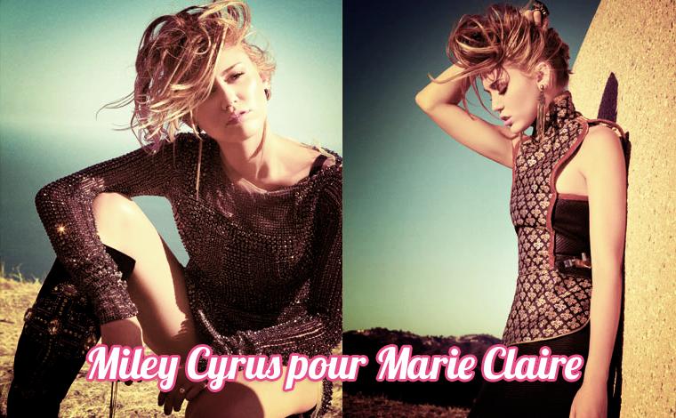 Nouveau Shoot pour Miley Cyrus