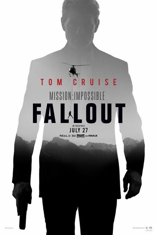 Mission Impossible : Fallout en salle le 1 aout.  Ce soir, France 2 diffuse Mission Impossible: Rogue One