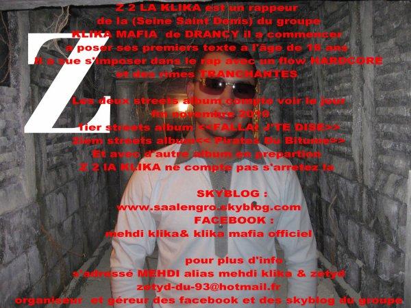 Biographie Z 2 LA KLIKA
