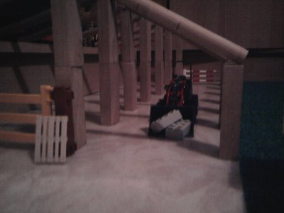 Batiment d'élevage construit par mon frère