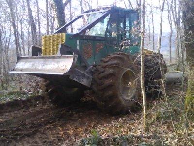 timberjack john deere 3600