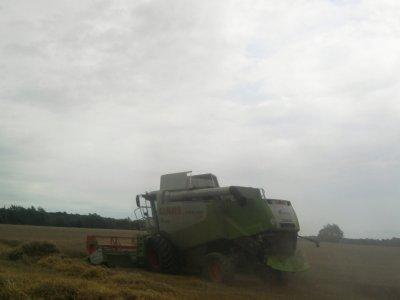 Moisson 2011: avec une class 550 montana!!!