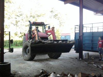 Bois 2011: avec un case ih cs 120!!!