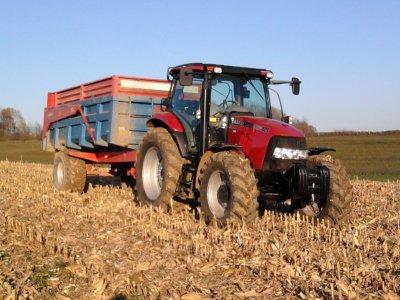 Maîs a grain 2011: avec une class méga 350!!!