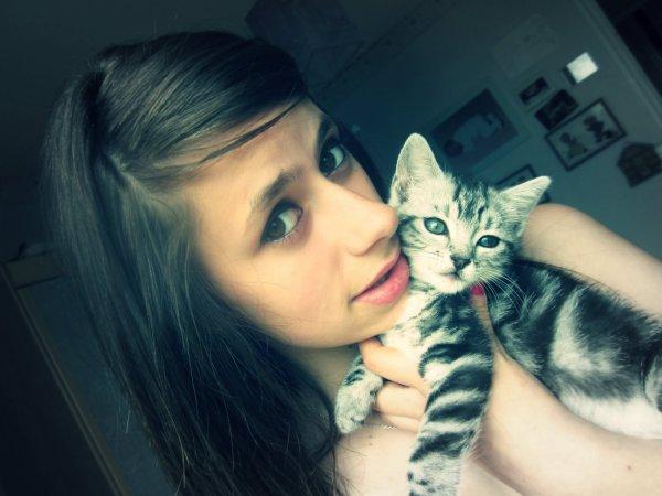 Mon chaton !