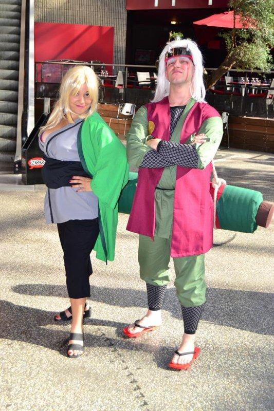 tsunade pour la sortie de road of ninja en france