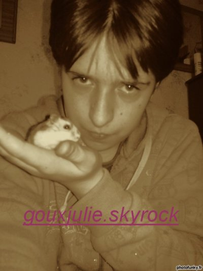 me and my hamster