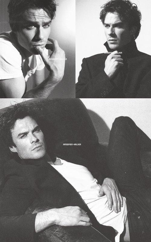 Découvre les photos de Ian pour le magazine Origin. | Pas de date.