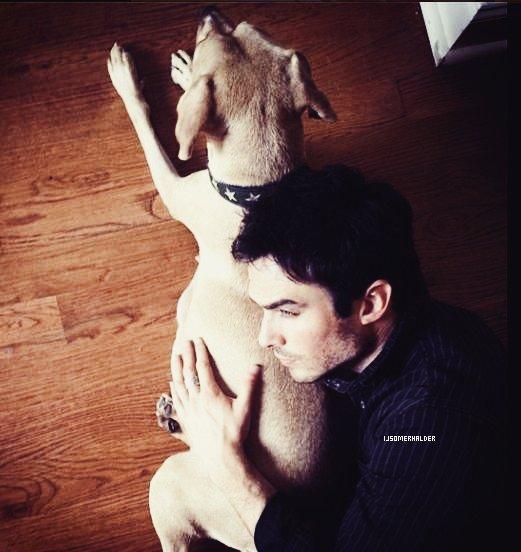 Ian va être grand père. | Septembre 2013.