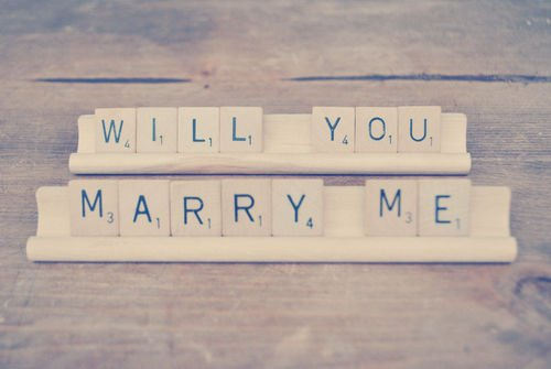 Will you mary me ?