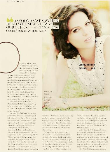 . MAGASINE 1/03/13 : Lana apparait sur Latina Magasine Mars émission  + Je la trouve vraiment magnifique sur ces photos, comme d'habitude .  .