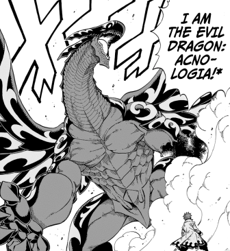 Acnologia, le dragon noir du livre de l'apocalypse