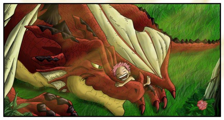 Igneel, le dragon de feu