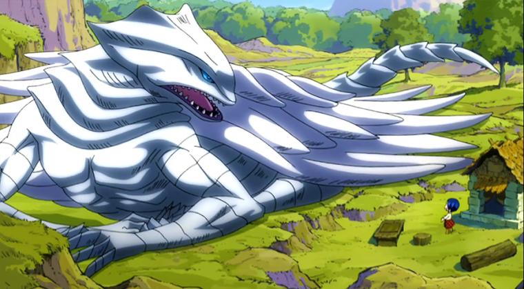 Grandine, le dragon céleste
