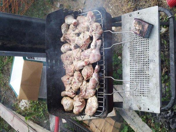Un bn barbecue en famille au soleil sa fait du bien