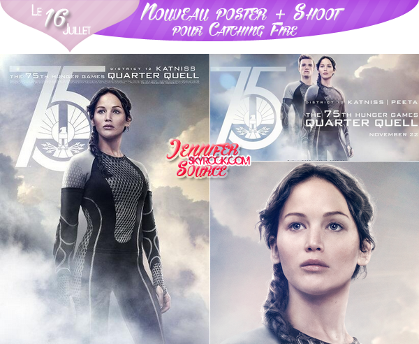 NV SHOOT + POSTER POUR CATCHING FIRE