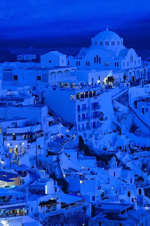 Bleu crépuscule.....