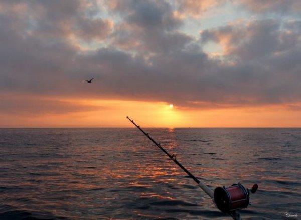 pêche ,pour évacuer le stress