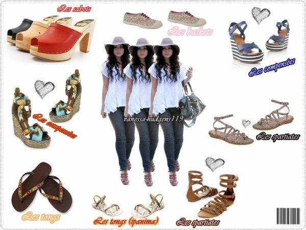 CATEGORIE : Shoes : Les stars les portent et en font des petits bijoux à leurs pieds...Alors si toi aussi tu veux commencer l'été sur un bon pied, admire cette sélection de jolis souliers faite rien que pour TOI : )