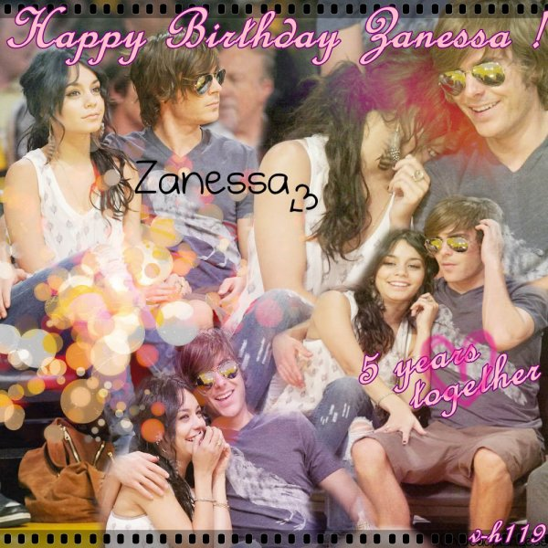 1er Septembre >> Happy Birthday Zanessa