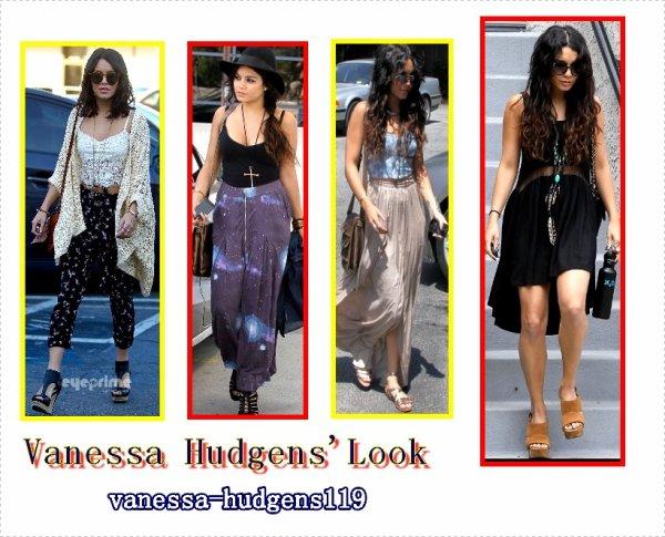 Vanessa Hudgens' LOOK